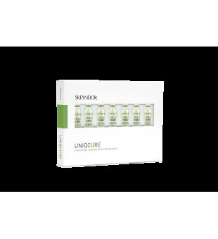Skeyndor Uniqcure Mattifying Pore Refiner Concentrate Matiškumo suteikiantis veido serumas, 7x2ml   inbeauty.lt