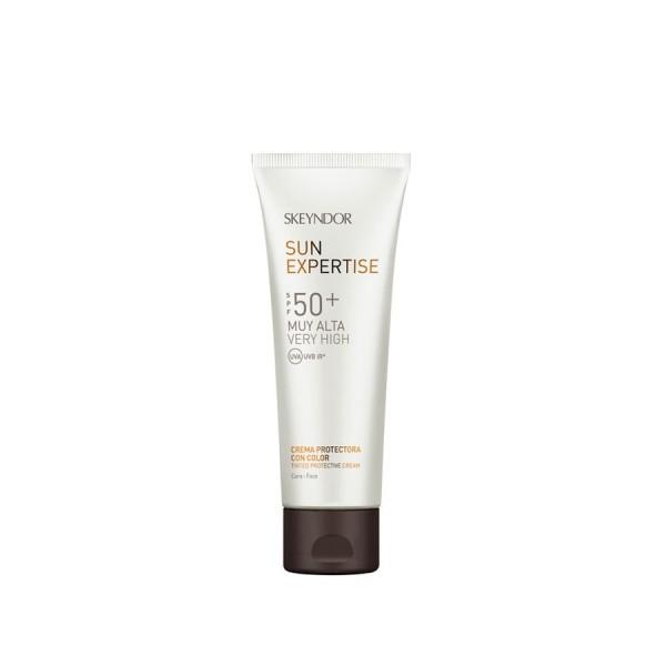 Sun Expertise Tinted Protective Cream SPF50 Apsauginis kremas nuo saulės, 75ml