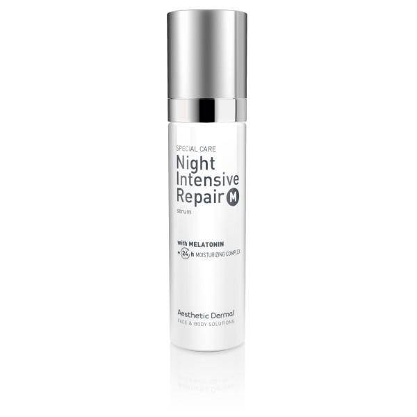 Night Intensive Repair Serum With Melatonin Atkuriamasis veido serumas su melatoninu, 50ml