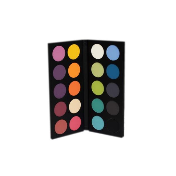 Pro Combination Eyeshadow Pallette Akių šešėlių paletė, 50g