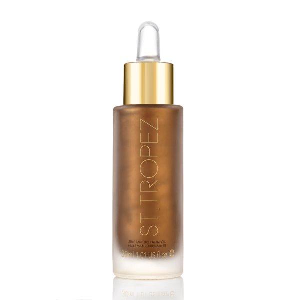 Savaiminio įdegio sausas aliejus veidui Self Tan Facial Oil, 30ml