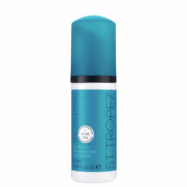 Greito įdegio putos Self Tan Express Advanced, 50 ml