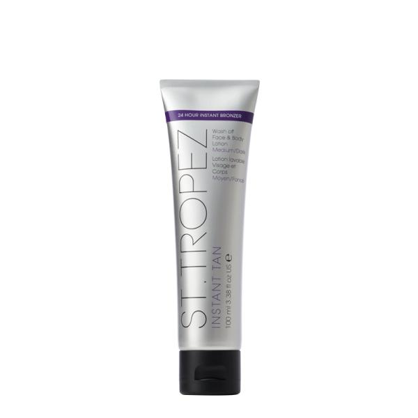 Instant Tan Wash Off Face & Body Lotion Medium/Dark Nusiplaunantis įdegio losjonas (tamsesnis), 100ml