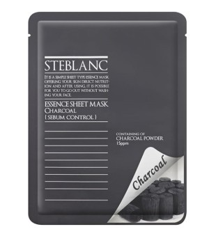 Essence Sheet Mask Charcoal Veido kaukė su anglim, 20g