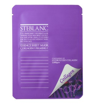 Steblanc Essence Sheet Mask Collagen Veido kaukė su kalogenu, 20g | inbeauty.lt