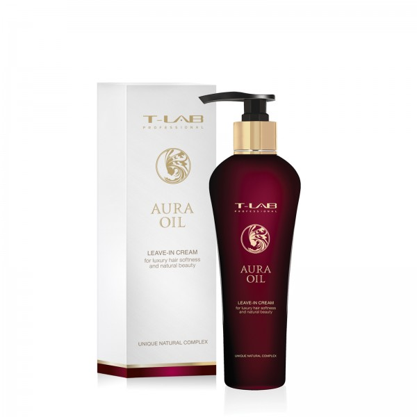 Aura Oil Leave-In Cream Nenuplaunamas plaukų kremas, 130ml