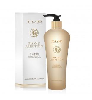 T-LAB Blond Ambition Shampoo Šampūnas šviesintiems plaukams, 250ml | inbeauty.lt