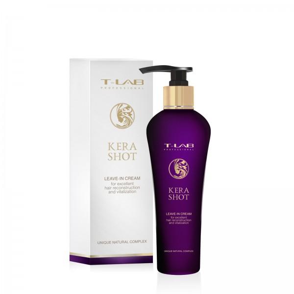 Kera Shot Leave-In Cream Nenuplaunamas atkuriamasis plaukų kremas, 130ml