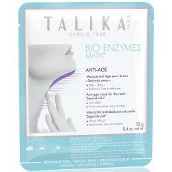Bio Enzymes Anti-Age Neck Mask Kaukė nuo raukšlių kaklui, 1vnt.