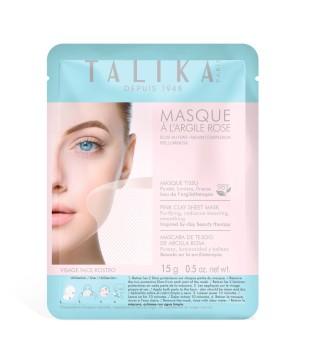 Talika Pink Clay Sheet Mask Skaistinamoji veido kaukė, 1vnt. | inbeauty.lt