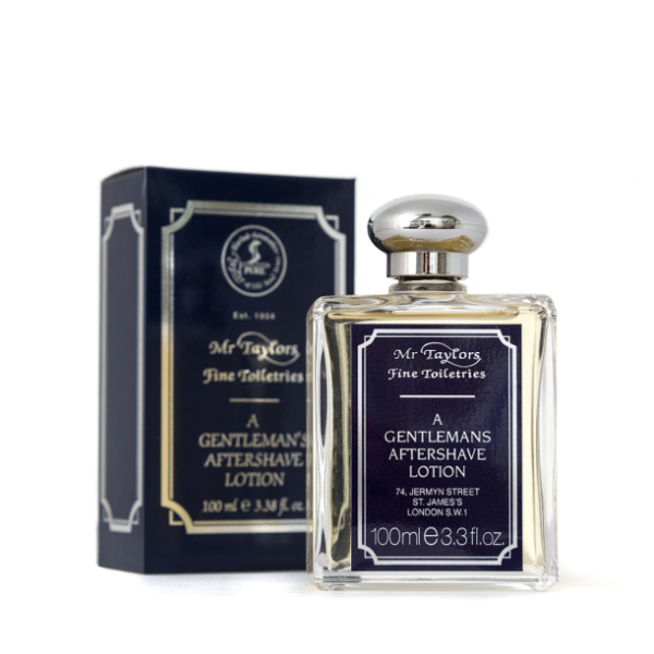 Mr Taylors A Gentleman's Aftershave Lotion Losjonas po skutimosi, 100ml