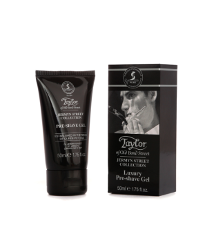 Taylor of Old Bond Street Jermyn Street Luxury Pre-Shave Gel Gelis prieš skutimąsi, 50ml | inbeauty.lt