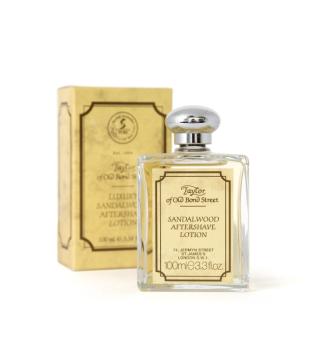 Taylor of Old Bond Street Luxury Sandalwood Aftershave Lotion Losjonas po skutimosi, 100ml   inbeauty.lt