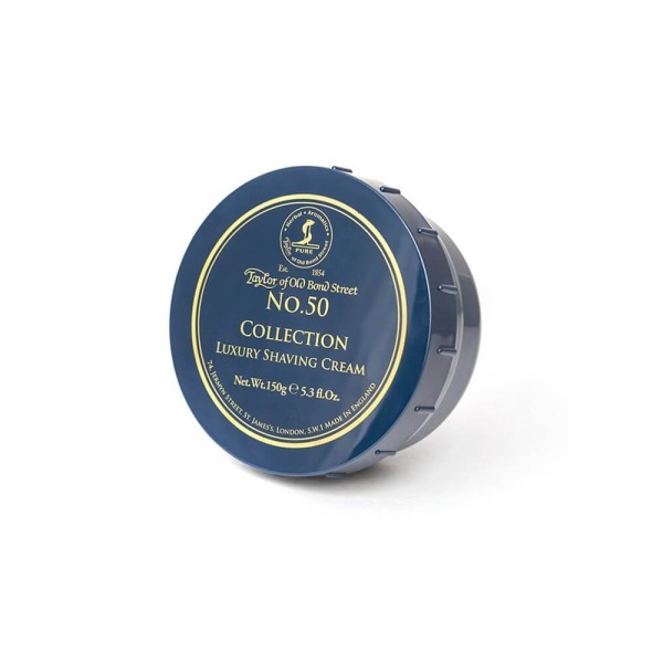 No.50 Collection Luxury Shaving Cream Skutimosi kremas, 150g