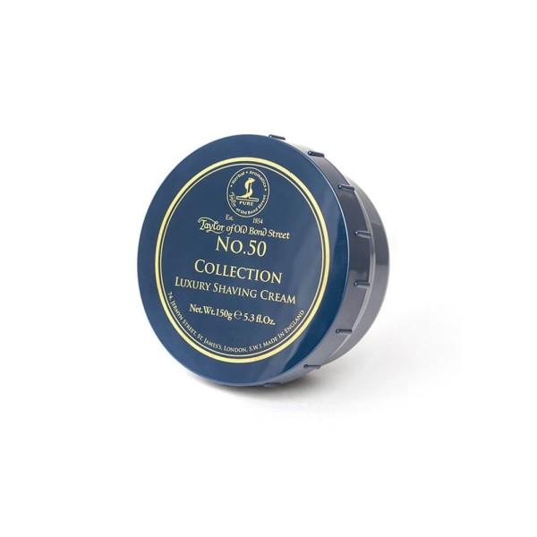 No.50 Collection Luxury Shaving Cream Skutimosi kremas, 150g