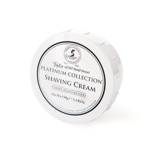 Platinum Collection Shaving Cream Skutimosi kremas indelyje, 150g