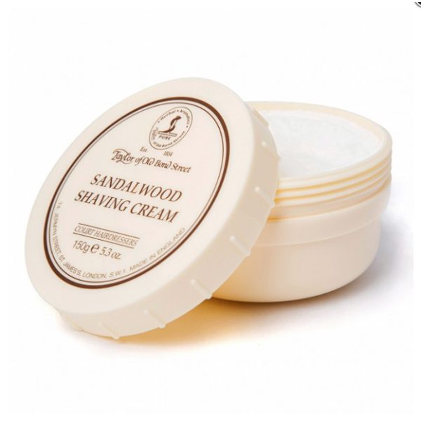 Sandalwood Shaving Cream Skutimosi kremas su santalmedžiu, 150g