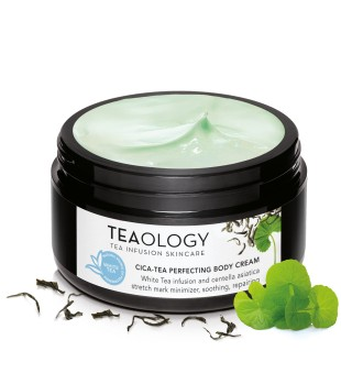 Teaology Cica-Tea Perfecting Body Cream Kremas nuo strijų, 300ml | inbeauty.lt