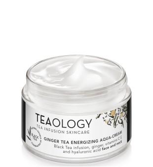 Teaology Ginger Tea Energizing Aqua-Cream Drėkinamasis veido kremas, 50ml | inbeauty.lt