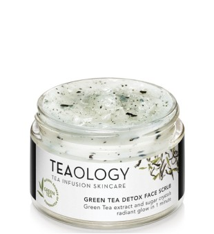 Teaology Green Tea Detox Face Scrub Veido šveitiklis su žaliąja arbata, 50ml   inbeauty.lt