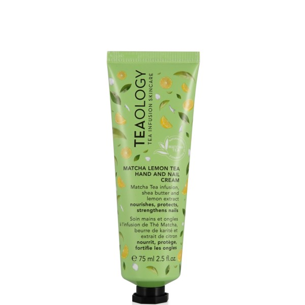 Matcha Lemon Tea Hand And Nail Cream Rankų ir nagų kremas, 75ml