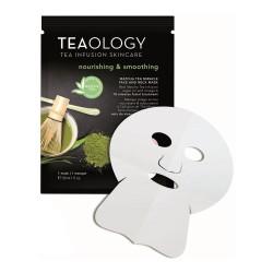 Matcha Tea Miracle Face & Neck Mask Maitinamoji veido kaukė, 1vnt