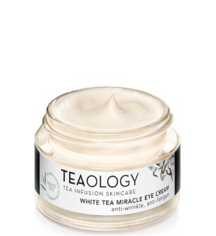 Teaology White Tea Miracle Eye Cream Paakių kremas su baltąja arbata, 15ml | inbeauty.lt