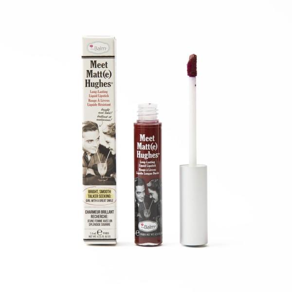 Meet Matt(E) Hughes Adoring Merlot Ilgai išliekantys matiniai lūpų dažai, 7.4ml