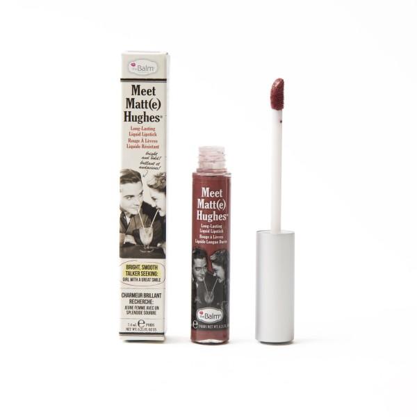 Meet Matt(E) Hughes Charming Rich Mauve Ilgai išliekantys matiniai lūpų dažai, 7.4ml