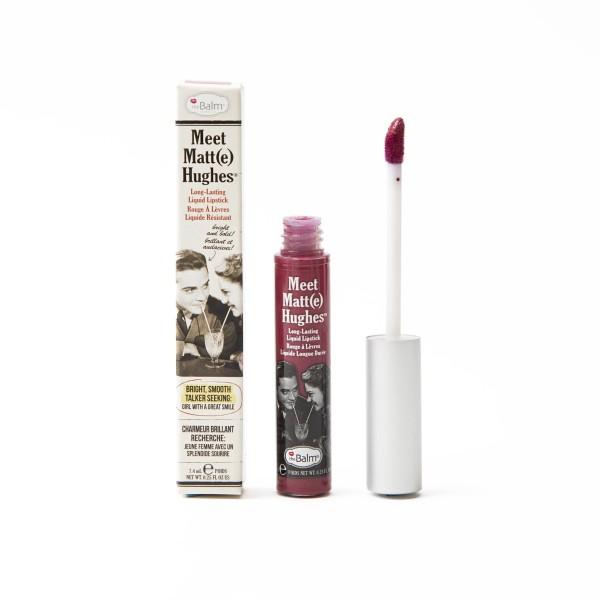 Meet Matt(E) Hughes Dedicated Berry Red Ilgai išliekantys matiniai lūpų dažai, 7.4ml