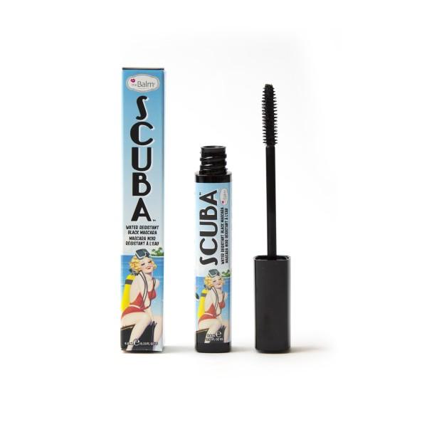 Scuba Water resistant Black Mascara Vandeniui atsparus blakstienų tušas, 9.8ml