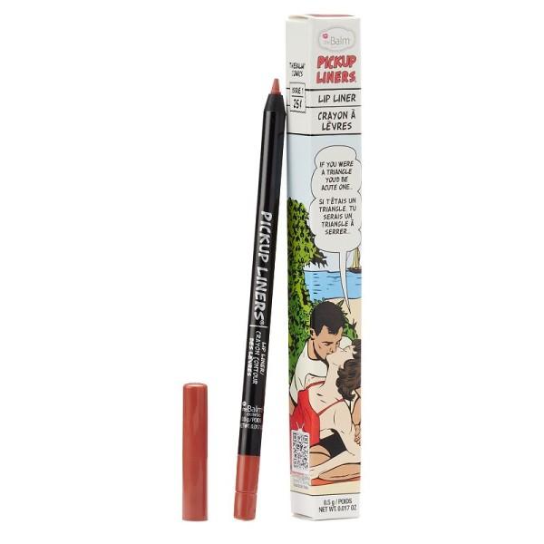 Pickup Liners Acute One Nude Plum Lūpų pieštukas, 0.5g