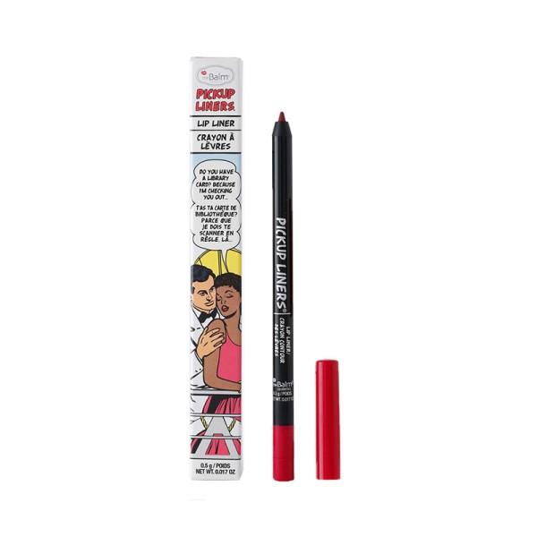 Pickup Liners Checking You Out Deep Blue Red Lūpų pieštukas, 0.5g