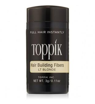 Toppik Hair Building Fiber  Plaukų efektą sukurianti pudra, labai šviesi, 3 g | inbeauty.lt