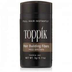 Hair Building Fiber  Brown Plaukų efektą sukurianti pudra, ruda, 3 g