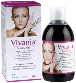 Geriamas kolagenas - Vivania Beauty Shot, 500 ml