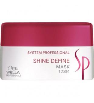 Wella SP Shine Define Mask Blizgesio suteikianti kaukė, 200 ml | inbeauty.lt