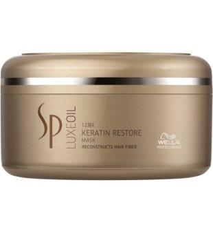 Wella SP Luxe Oil Keratin Restore Mask Keratiną atstatanti kaukė, 150 ml | inbeauty.lt