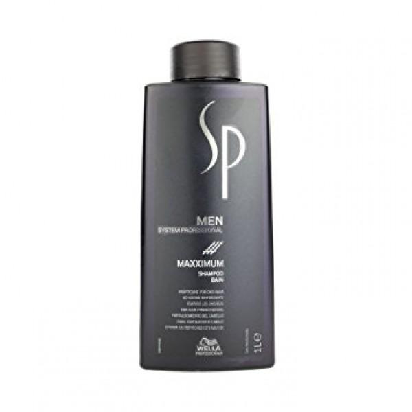 Stiprinantis plaukus šampūnas – MEN MAXXIMUM SHAMPOO, 1000ml