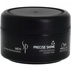Žvilgesio suteikiantis plaukų vaškas -  MEN PRECISE SHINE, 75 ml