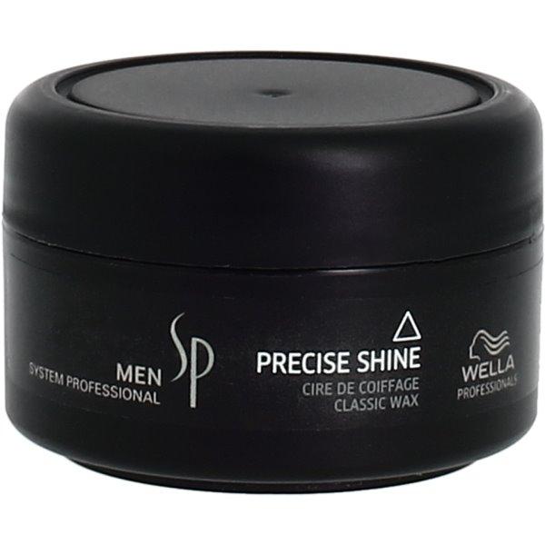 Men Precise Shine Classic Wax Žvilgesio suteikiantis plaukų vaškas, 75 ml