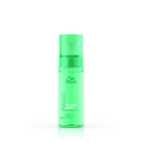 Invigo Volume Boost Bodifying Foam Apimties suteikiančios plaukų putos, 150 ml