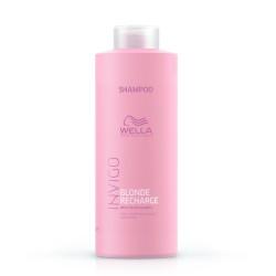 Geltoną atspalvį neutralizuojantis šampūnas - Blonde Recharge, 1000 ml