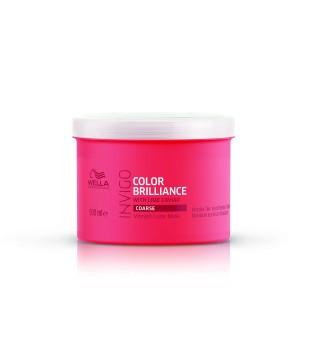 Wella Invigo Color Brilliance Coarse Vibrant Color Mask Plaukų spalvą sauganti kaukė storiems plaukams, 500 ml | inbeauty.lt