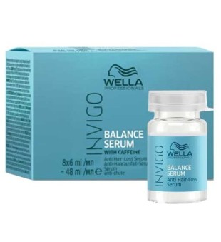 Invigo Balance Serum Anti Hair Loss Serumas nuo plaukų slinkimo, 8x6 ml