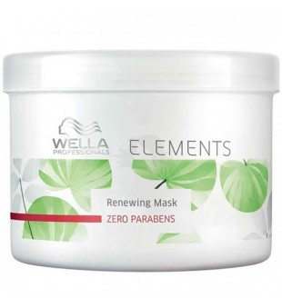 Wella Atkuriamoji kaukė - ELEMENTS RENEW MASK, 500 ml | inbeauty.lt