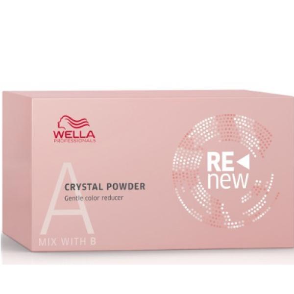 Renew Crystal Powder Švelnūs plaukų spalvos šalinimo milteliai, 5x9g