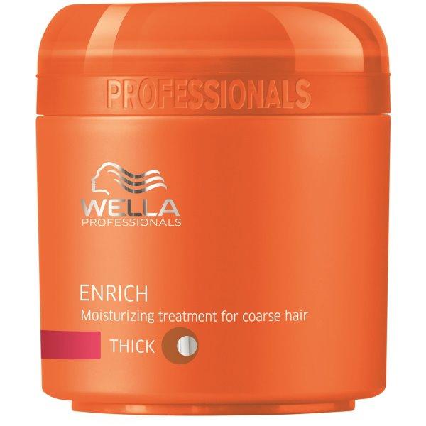 Enrich Moisturizing Treatment For Coarse Hair Drėkinanti kaukė šiurkštiems plaukams, 150ml