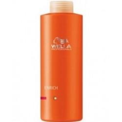 Drėkinantis šampūnas pažeistiems ir šiurkštiems plaukams - ENRICH SHAMPOO COARSE , 1000 ml