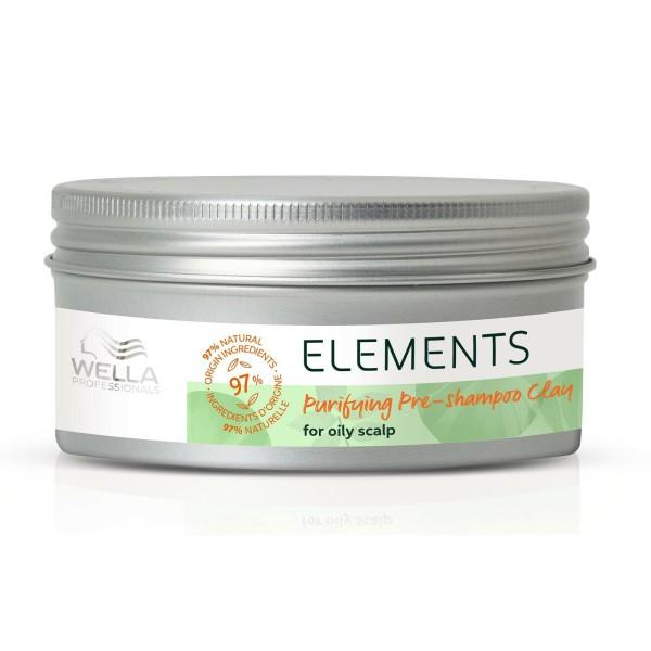 Elements Pre Shampoo Clay Valantis molis riebiai galvos odai, 70ml